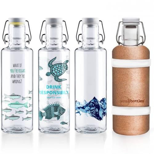 soultbottles Trinkflasche Glas