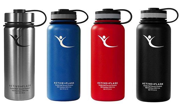Trinkflaschen Test BeMaxx Active Flask