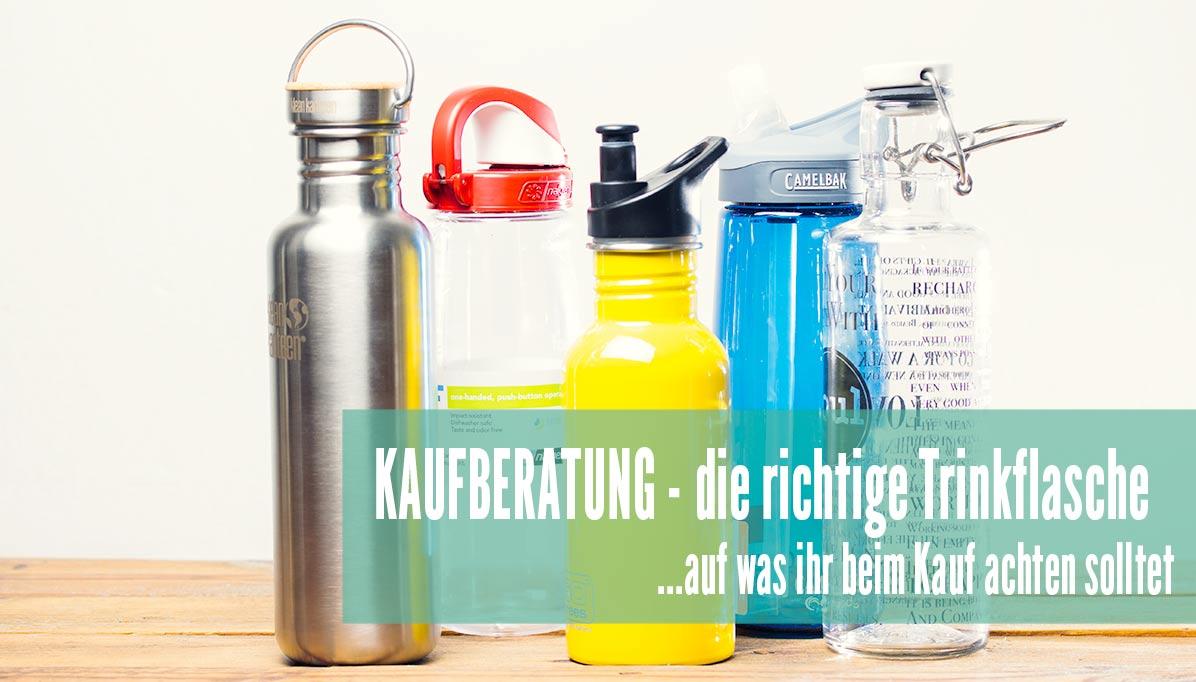 Kaufberatung Trinkflasche Vergleich