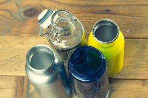 Trinkföffnung der Trinkflasche