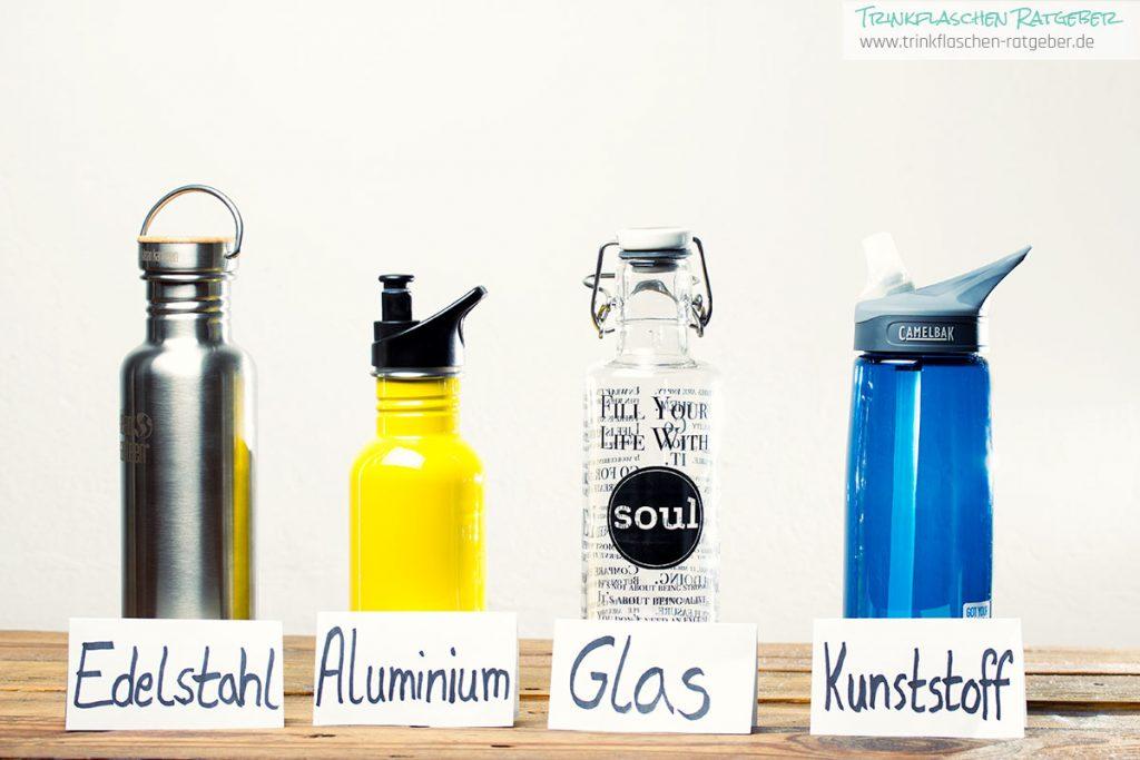 Trinkflaschen Test - Vergleich Material