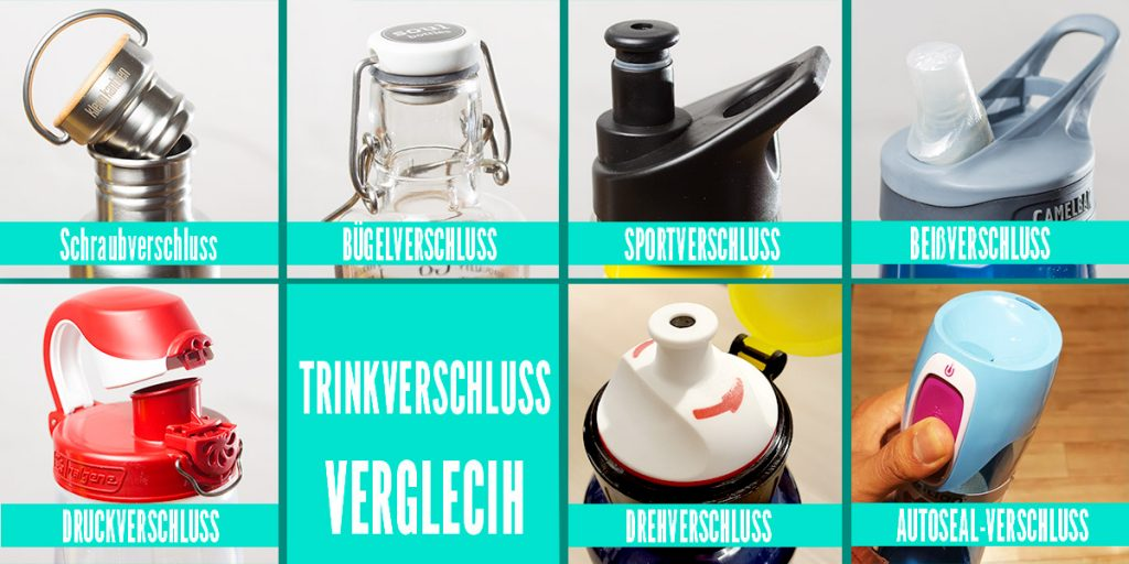 Vergleich Trinkflaschen Test