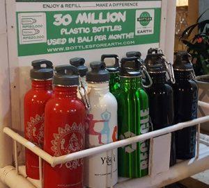 Bottles for Earth auf Bali