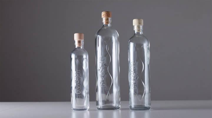 Flaska Trinkflasche 3 Modelle