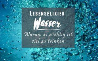 Warum wir viel Wasser trinken sollten