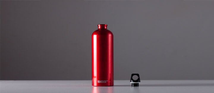 SIGG Alutrinkflasche Traveller Touch Flasche 0,6l teal türkis Trinkflasche Alumi