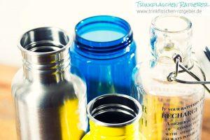 Trinkflaschen Vergleich Öffnung