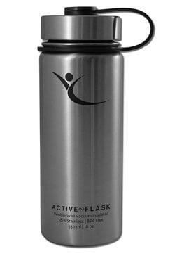 Active-Flask-BeMaxx Edelstahltrinkflasche