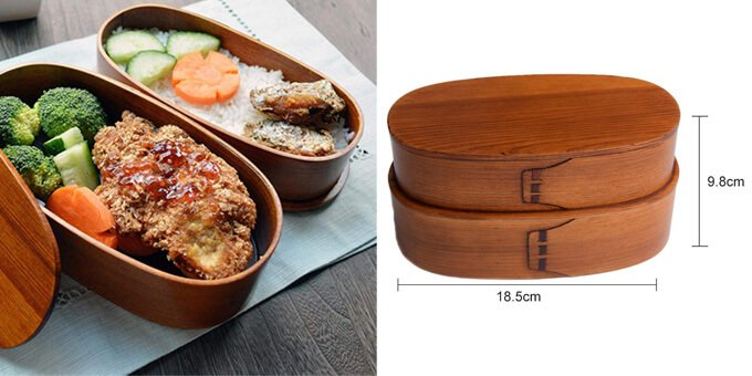 Bentobox-Holz-Lunchbox