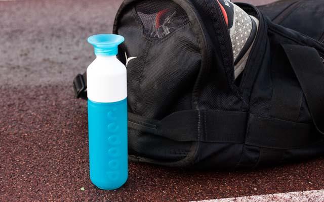 Dopper Trinkflasche beim Sport Tasche