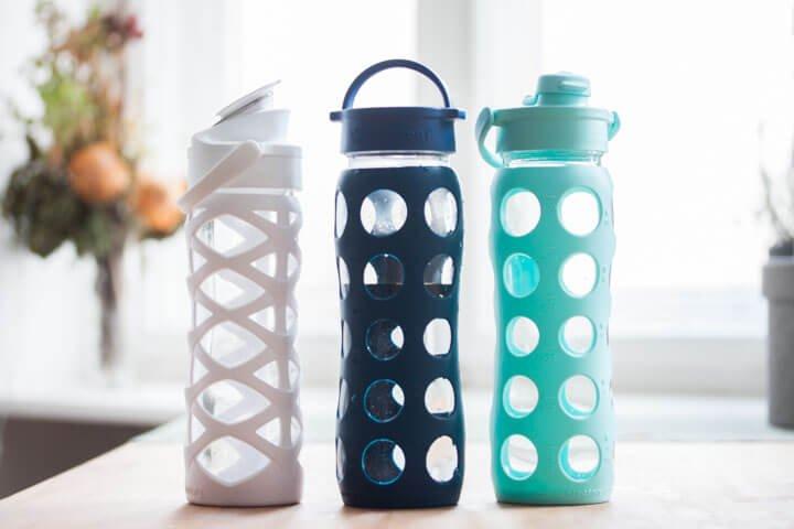 Lifefactory Trinkflaschen Glas
