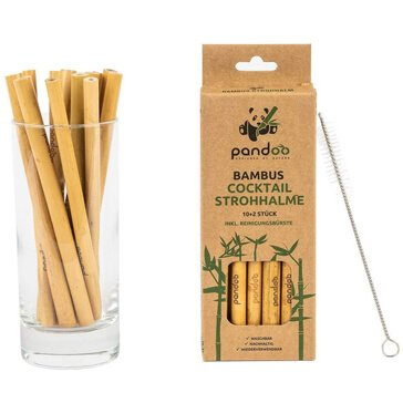 Pandoo-Bambus-Trinkhalm