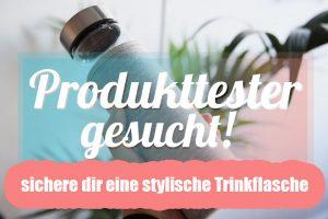 Produkttester für Trinkflaschen