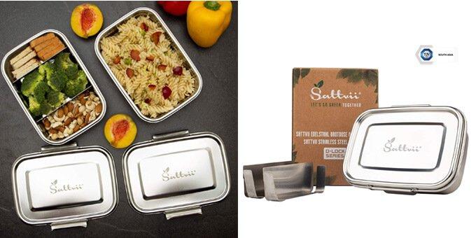Sattvii-Edelstahl-Bentobox