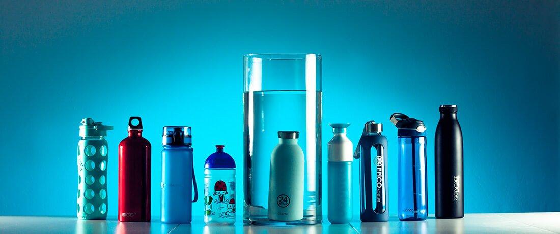 Trinkflaschen Testberichte mit verschiedenen Trinkflaschen